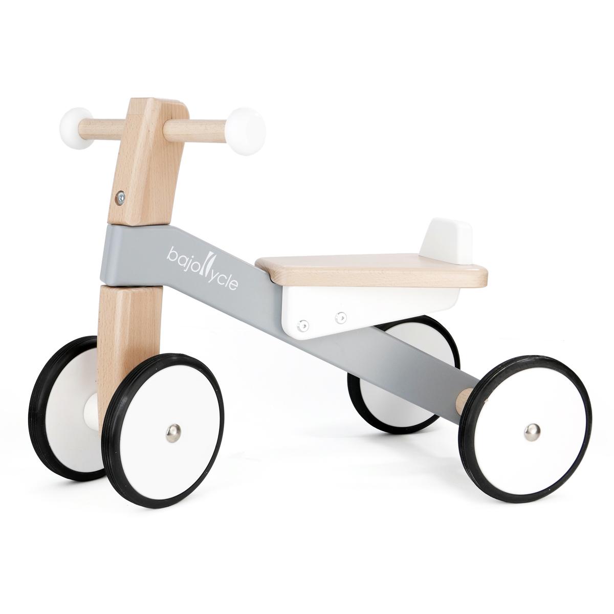 【乗り物】【BorneLund:ボーネルンド】木の四輪バイク【お誕生日・ご出産祝】人気商品