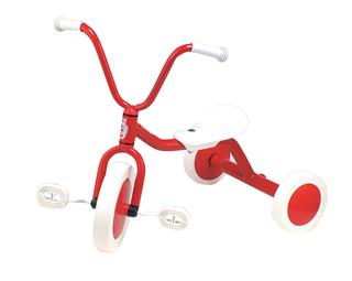 【 BorneLund:ボーネルンド 】ペリカン三輪車Vハンドル R&W【外遊び&乗り物】【楽ギフ_のし】