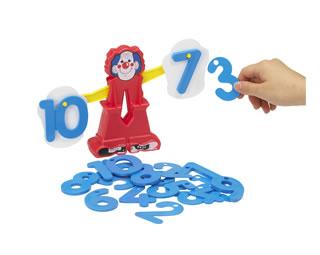 知育玩具 数 BorneLund:ボーネルンド 業界No.1 今ダケ送料無料 入園入学お祝特集 ピエロのびっくりはかり 楽ギフ_のし