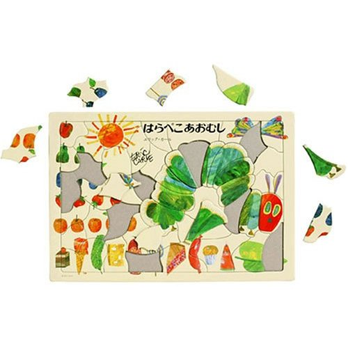 The very hungry caterpillar picture puzzle 10P01Sep13