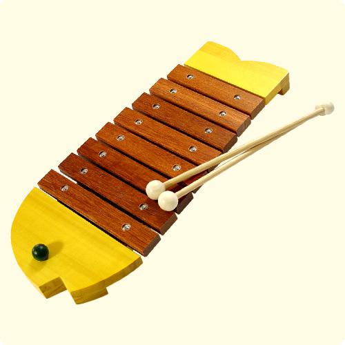 儿童的第一次仪器 ♪ bornelund 鱼木琴受欢迎的产品 10P01Sep13