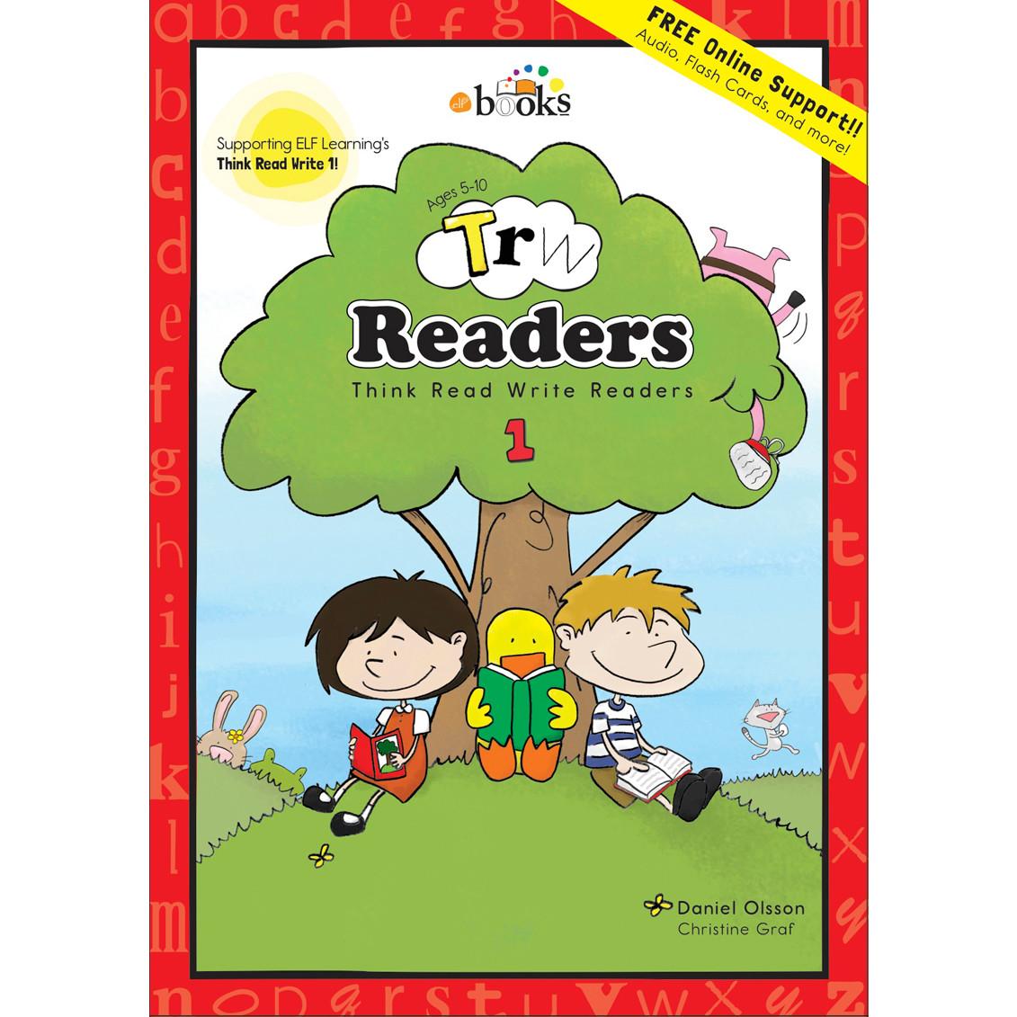 【幼児・小学生にオススメ 英語教材】シンク・リード・ライト 1 (読解編) Think Read Write 1, Readers