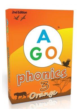 【小学生・中学生にオススメ 英語教材】エイゴ・フォニックス・オレンジ 2nd Edition (Level 3) AGO Phonics Orange 2nd Edition (Level 3)