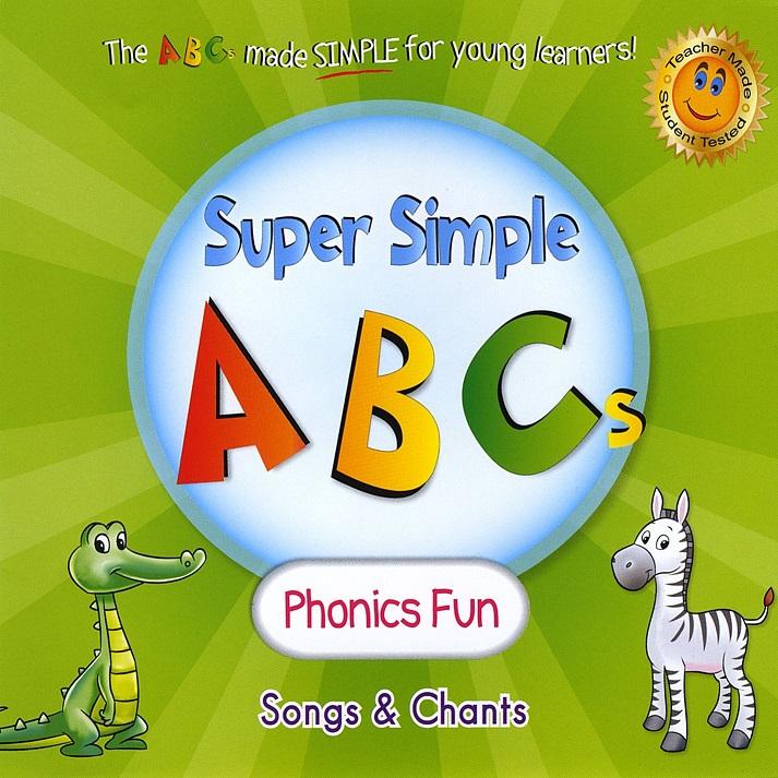 子どもたちがすぐに一緒に歌えるような曲やチャント フォニックス アルファベットソング リトル アメリカ福岡 スーパー シンプル ABCs-フォニックス ファン 商舗 CD 幼児 Simple Super Fun ABCs 小学生にオススメ - 英語教材 卸売り Phonics