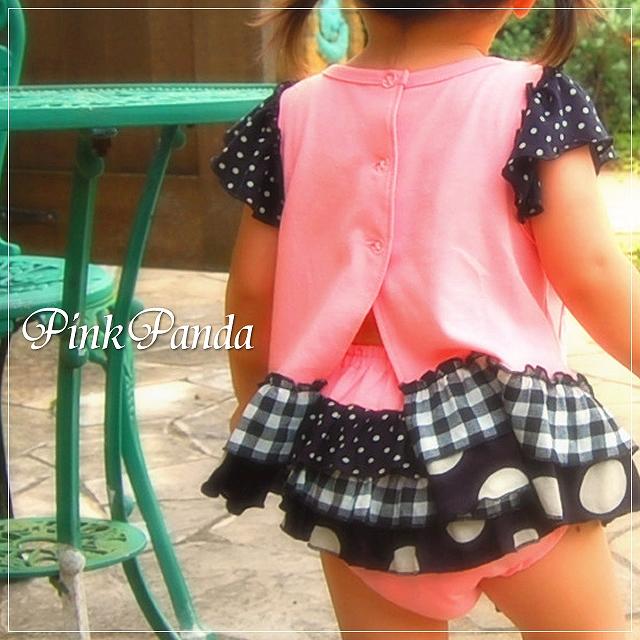 CHIPCHERRY 通販 ファッション通販 激安 フリフリブルマー PinkPanda