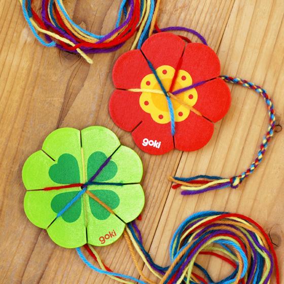 リリアン 編み機 リリアン編み 毛糸 手芸 おもちゃ かわいい プレゼント 女の子 輸入玩具 Little Fellows リリアン フラワー/クローバー