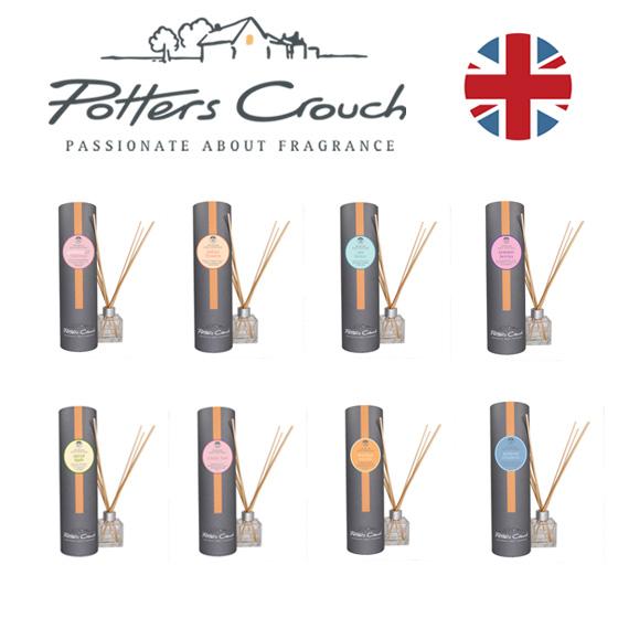 ディフューザー フレグランス アロマ ロンドン 英国 英国フェア エリザベス女王 ポッターズ ハンドメイド 手作り ギフト イギリス Potters Crouch ポッターズ・クラウチ フレグランスディフューザー