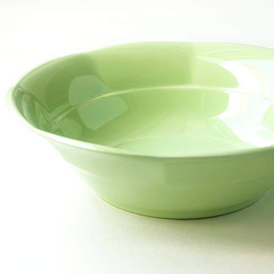 ボウル プラスチック メラミン 割れにくい かわいい おしゃれ カラフル 食器 北欧食器 輸入食器 ボウル 北欧 デンマーク rice ライス メラミンボウル  ライトグリーン