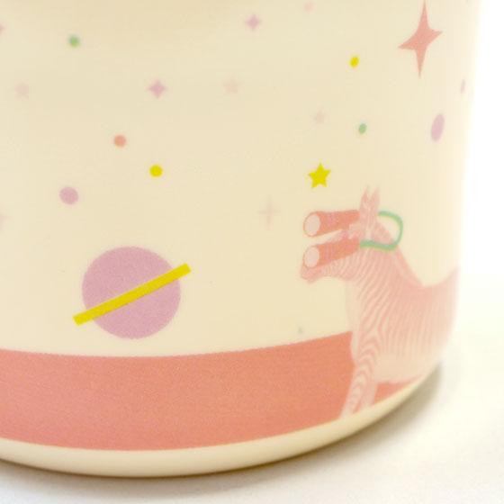 プラスチック コップ 幼稚園 子供 プラコップ プラスチックコップ かわいい 北欧雑貨 輸入食器 デンマーク rice ライス キッズ メラミン ハンドル カップ ガールユニバース