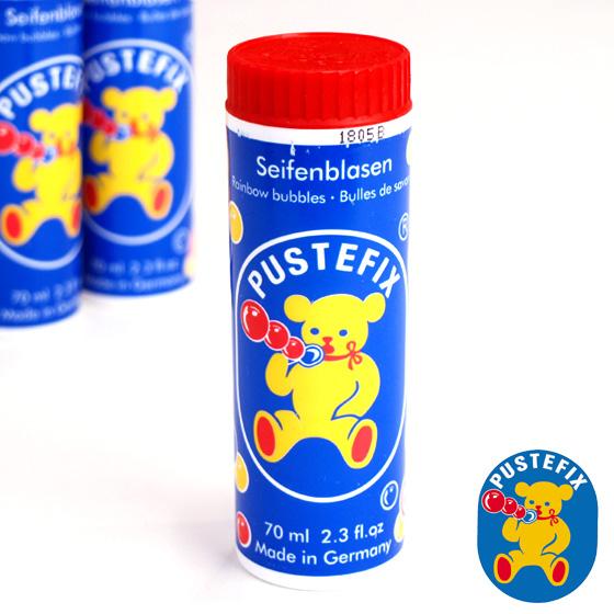 ドイツの老舗シャボン玉メーカー・プステフィックス シャボン玉 おもちゃ 水遊び シャボン玉遊び PUSTEFIX社 プステフィックス シャボン玉 サプライズ