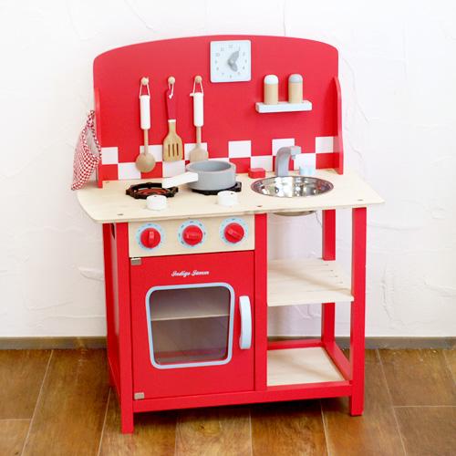 おままごと キッチン セット 木のおもちゃ ごっこ遊びIndigo Jamm インディゴジャム キッチンダイナー