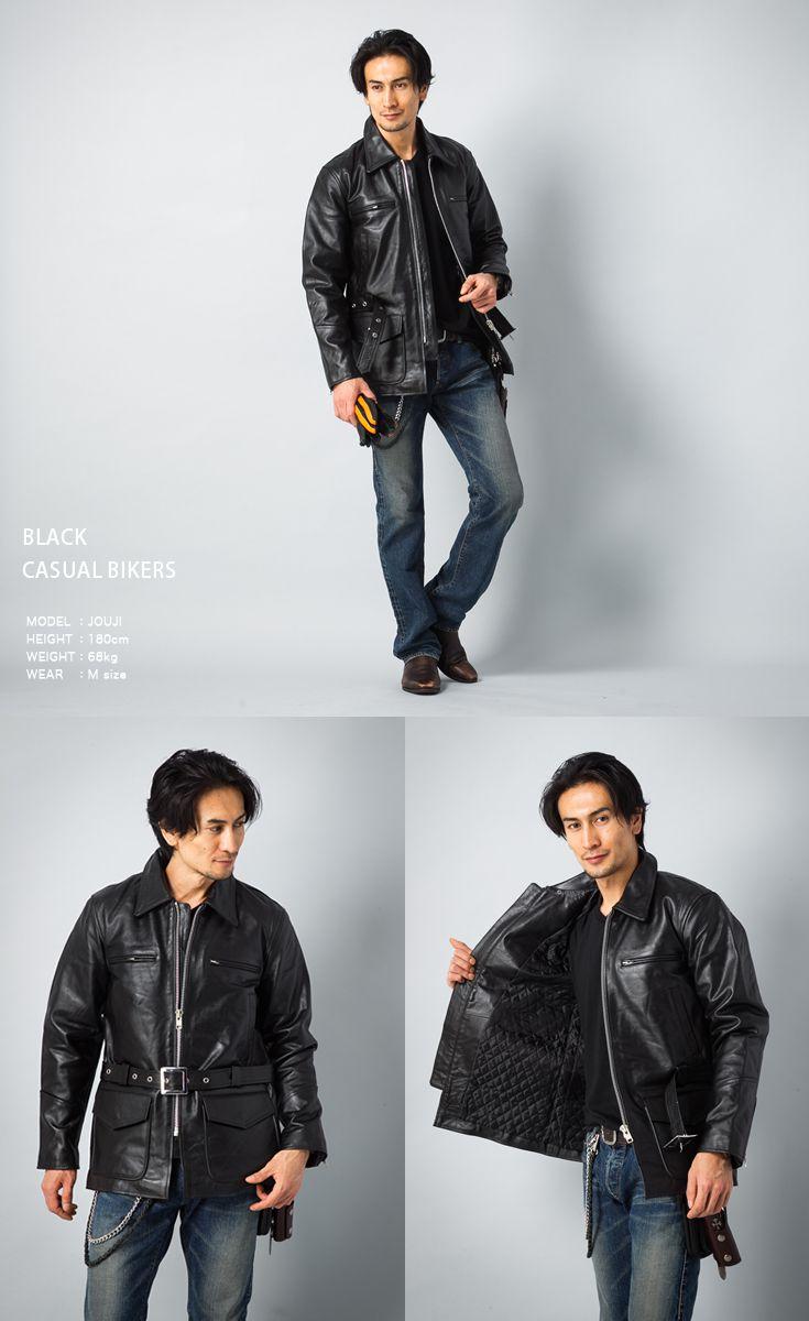 Mens jacket half - Jacket Half Coat Brand New Mens Policeman Jacket Police Leather Jacket Leather Jean Leather Jean Single