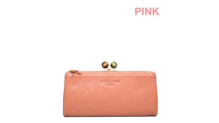 5f568d4c8 Brand name, ZUCCHERO FILATO (ズッケロフィラート). Brand name, [cow cowhide] a lady's long  wallet
