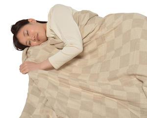 a・sarari3重織り綿麻ケット