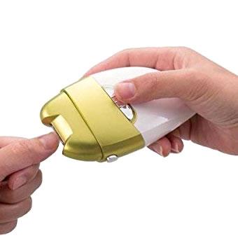 電動爪削り 角質ケアローラー 電池式 電動 爪削り 爪磨き かかと 角質ケア 角質除去 介護 介護グッズ 介護用品