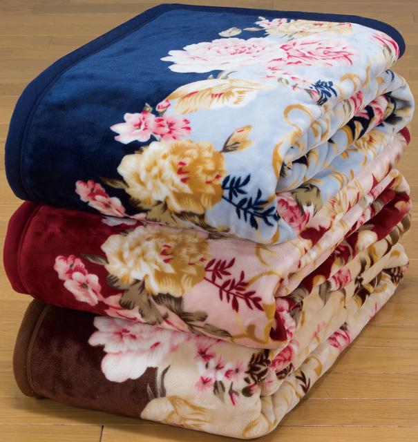 あったか毛布セット 冬 シングル 6点セット 暖かい 寝具 セット 冬用 ニューマイヤー毛布 オーロラボア敷パッド 保温 布団セット 寝具セット 花柄