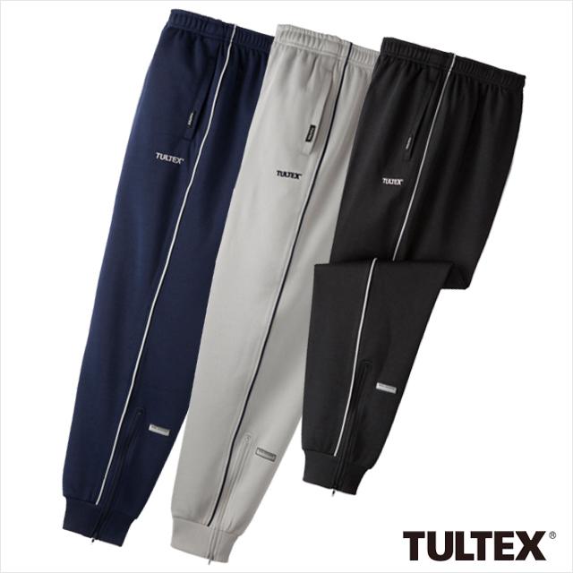タルテックス 吸汗速乾ジャージパンツ3色組 同サイズ 裾リブ