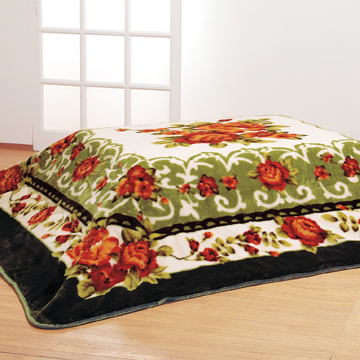 こたつ毛布 長方形 190×240cm こたつ 毛布 遠赤綿入り 3層 ボリューム こたつ布団 おしゃれ