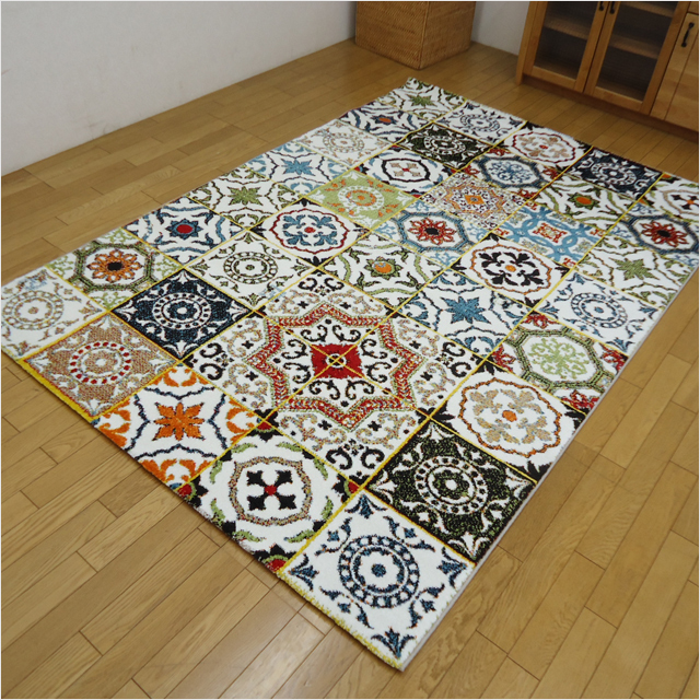 代金引換不可 トルコ製ウィルトン織りカーペット 200×250cm