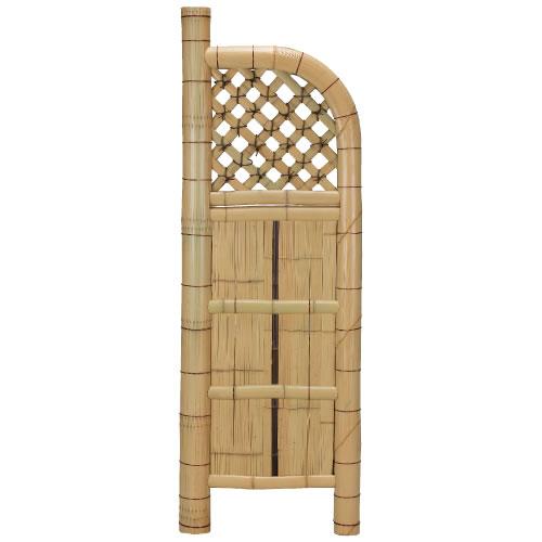 袖垣 竹垣 幅55cm 天然竹使用 玉袖垣 和風 エクステリア 庭 目隠し