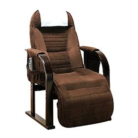 座椅子 低反発 リクライニング 天然木 低反発高座椅子 座ったままリクライニング