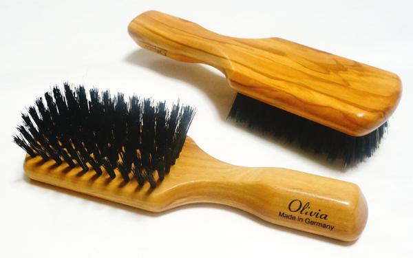 德国 Faller,作自然野猪猪毛刷在团结,他们擦头发梳子