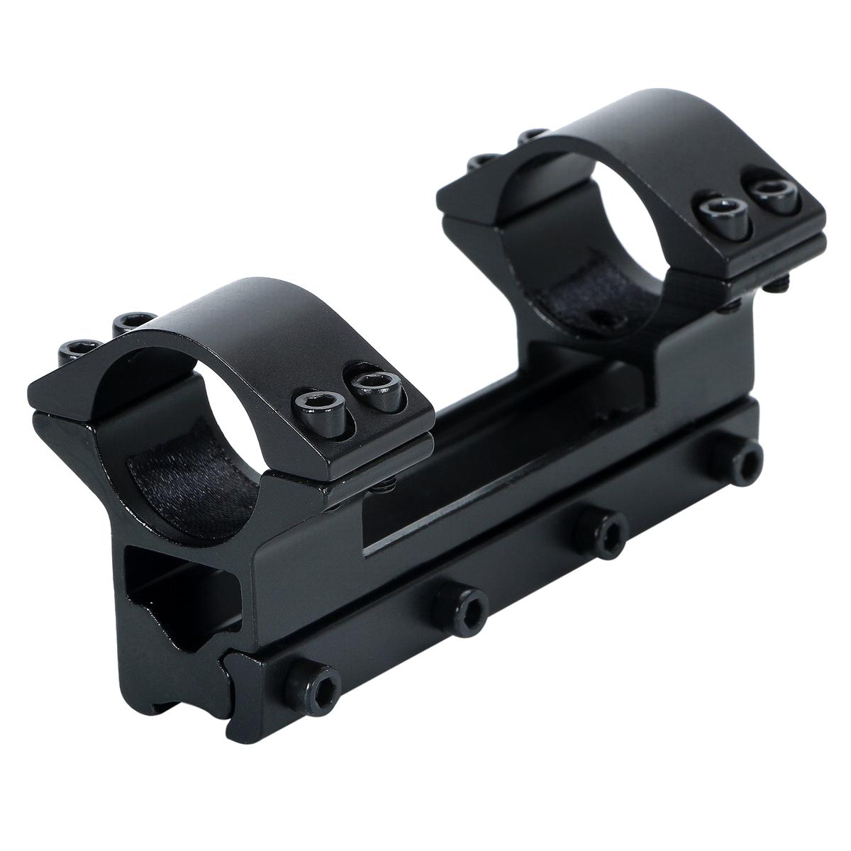 好評受付中 驚きの値段で 11mmレール対応25.4mm径ダブルリングスコープマウント 25.4mm 径 11mmレール対応 スコープマウント ダブルリング