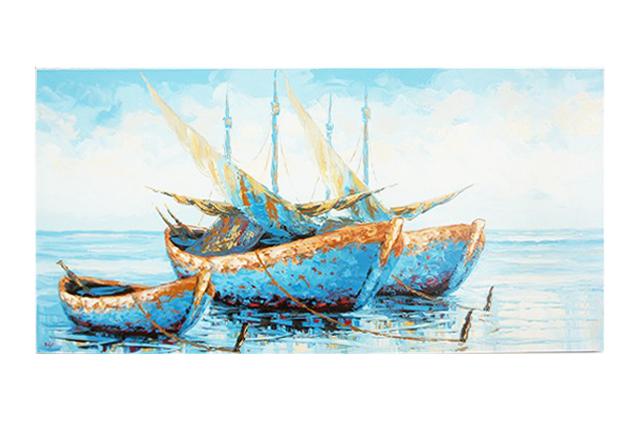 【マリンアート】船の絵画 送料無料