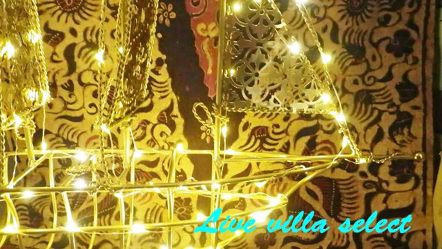 【マリン雑貨】光る豪華ゴールド船