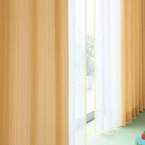 【送料無料】丸洗い【フラウラ】セミ・ オーダーカーテン