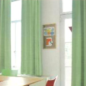 【送料無料】丸洗い遮光【エコ・グリーン】セミ・ オーダーカーテン
