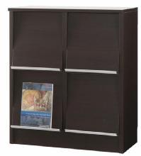 【送料無料】ディスプレイ家具 扉つき収納下置2列