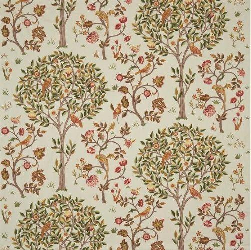ウイリアムモリス William Morris カーテン生地 Kelmscott Tree 230342ウィリアムモリス海外ブランド生地1巾(横幅W約137cm)縦1m単位カット販売