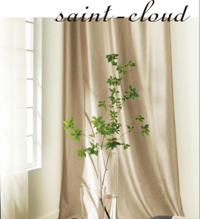 フェデFEDEカーテン SAINT-CLOUD サンクルー RC193 オーダーカーテン 幅182cm