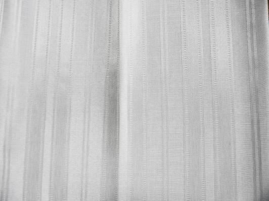 オーダーカーテン Living & FLowers自由が丘 KZBEE オリジナル モダン カーテンLF09 ホワイト ストライプ