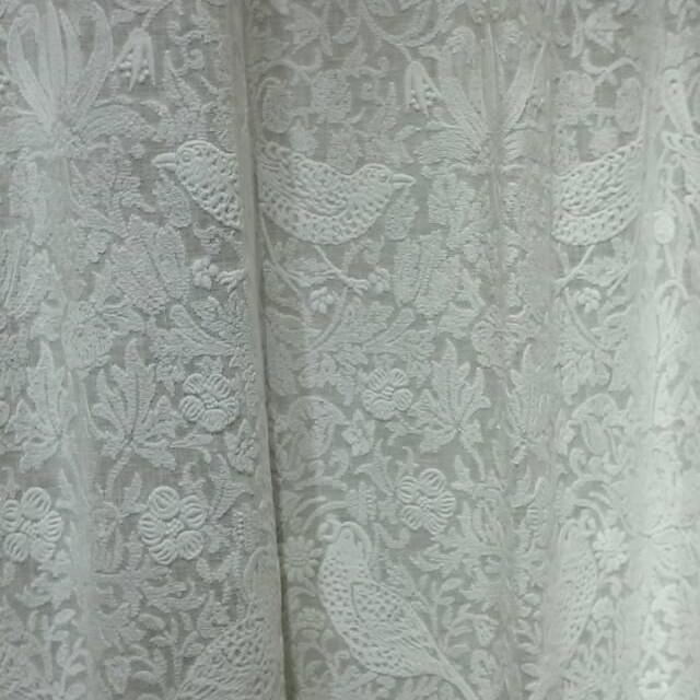 【送料無料】ウィリアムモリス/ピュアモリス Pure Strawberry Thief Embroidery オーダーカーテン フラットSTYLE 1枚分