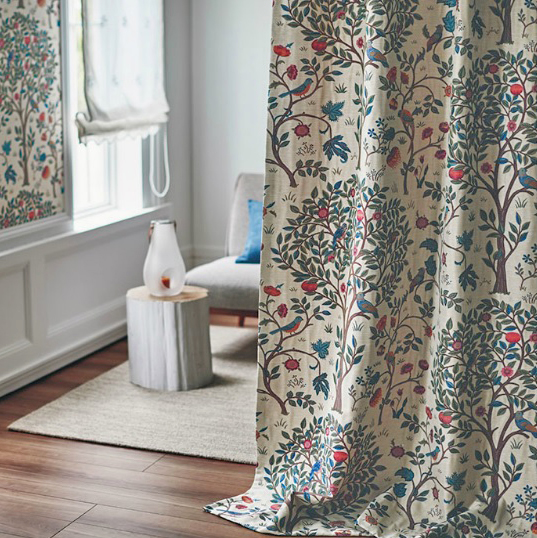 フィーロfilo ウィリアムモリス 人気15柄から選べる オーダーカーテン MLサイズ 川島織物セルコン