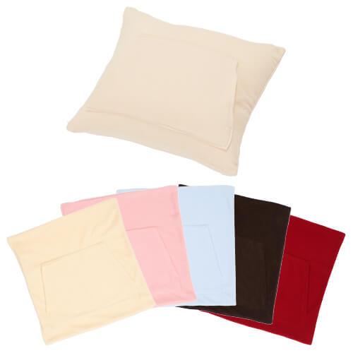 クッション ポケット付 座布団 フリース カバー 45×45 洗濯 背当て ポケット付き クッションカバー フリース ポケット付き 45×45cm 45 × 45 cm サイズ クッション カバー