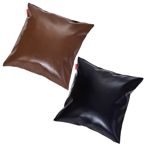 クッション クラシックキングレザー 45×45 cm 45 × 45 cm サイズ クッション カバー付 レザー 合成皮革 合皮 日本製