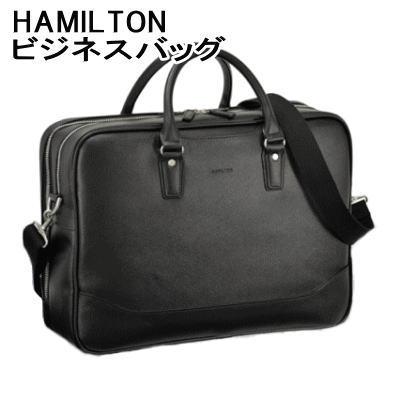 【送料無料】ビジネスバッグ バッグ ブリーフケース ハミルトン 角シボ生地 【P2】【MK】