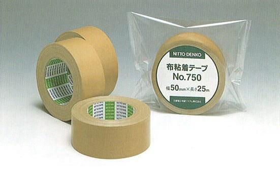 【送料無料】 布粘着テープ 25m(長さ)*50mm(幅)30巻 NO.750【P5】【MK】