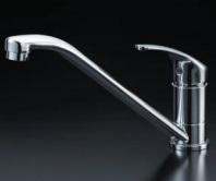 ミズタニバルブ 混合レバー水栓 MKZ535MMXE 混合水栓【smtb-TK】キッチン用水栓金具