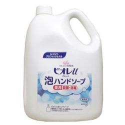 花王業務用 ビオレU 泡で出てくるハンドソープ ケース販売 4L×3本 マイルドシトラスの香り/フルーツの香り