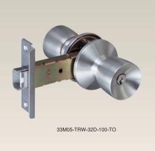 玄関錠 アルミサッシ戸用の取替錠セットです アルファ ALPHA ピンシリンダー 33M05-TRW-32D-100-TO ミリオンロック SEAL限定商品 信用 取替ドアノブセット