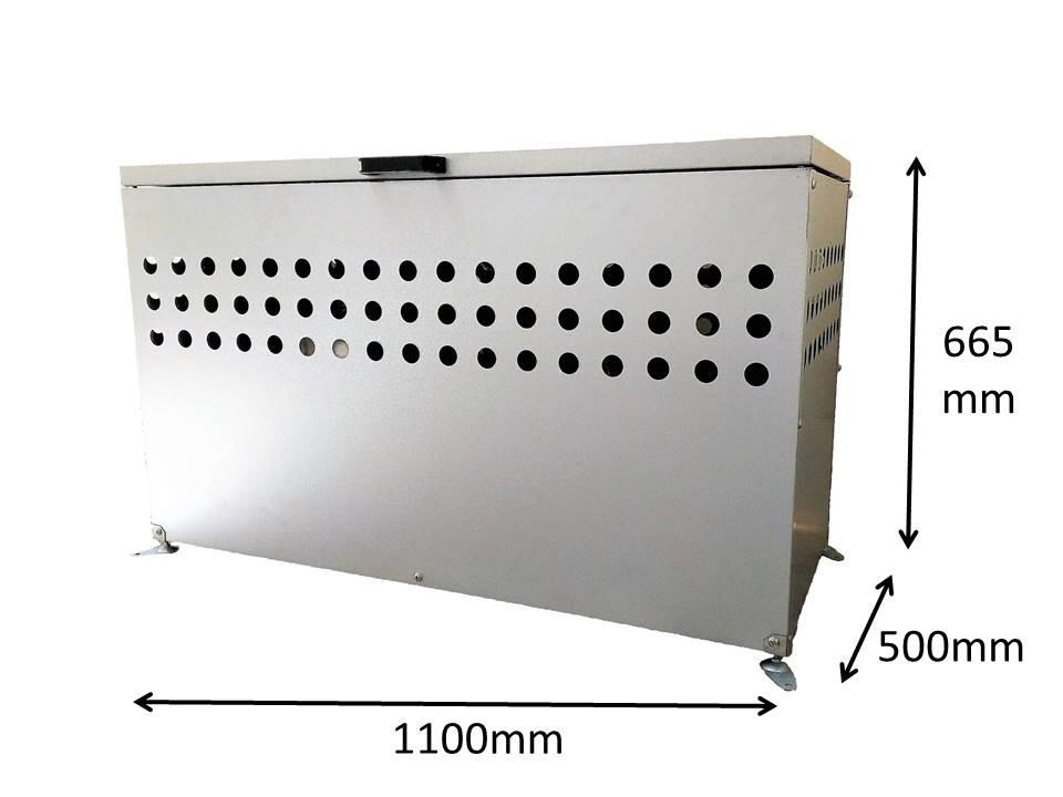 屋外用大型ダストボックス 300L DST1100