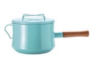ダンスク DANSK コベンスタイル ホーロー鍋 片手鍋 深型 18cm IH対応 ティール 3ct