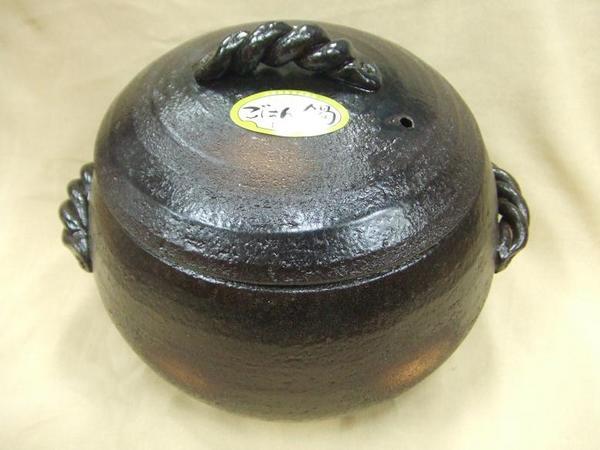 割れてしまった時の交換用に 送料無料でお届けします 三鈴陶器 日本製ご飯鍋 四日市万古焼 蓋のみ 3合炊き みすず炊飯土鍋 爆売りセール開催中