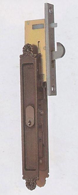 WEST YKK用引違戸錠 KH-155 玄関錠 ※KH-66代替品 ダークグレー
