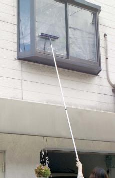 プロも認める高性能ガラススクイジー お気にいる テラモト ALワイパー伸縮36cmロング 25%OFF アルミ柄