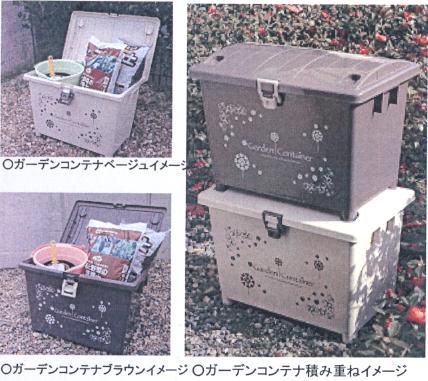 ガーデンコンテナ収納庫 コンテナ収納ボックス